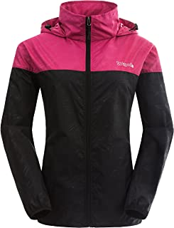 8529ebf4703 Wantdo Women s Packable UV Protect Quick Dry Outdoor Windproof Lightweight  Skin Jacket