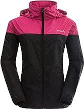 Wantdo Women's Packable Quick Dry Outdoor Windproof Lightweight Skin Jacket