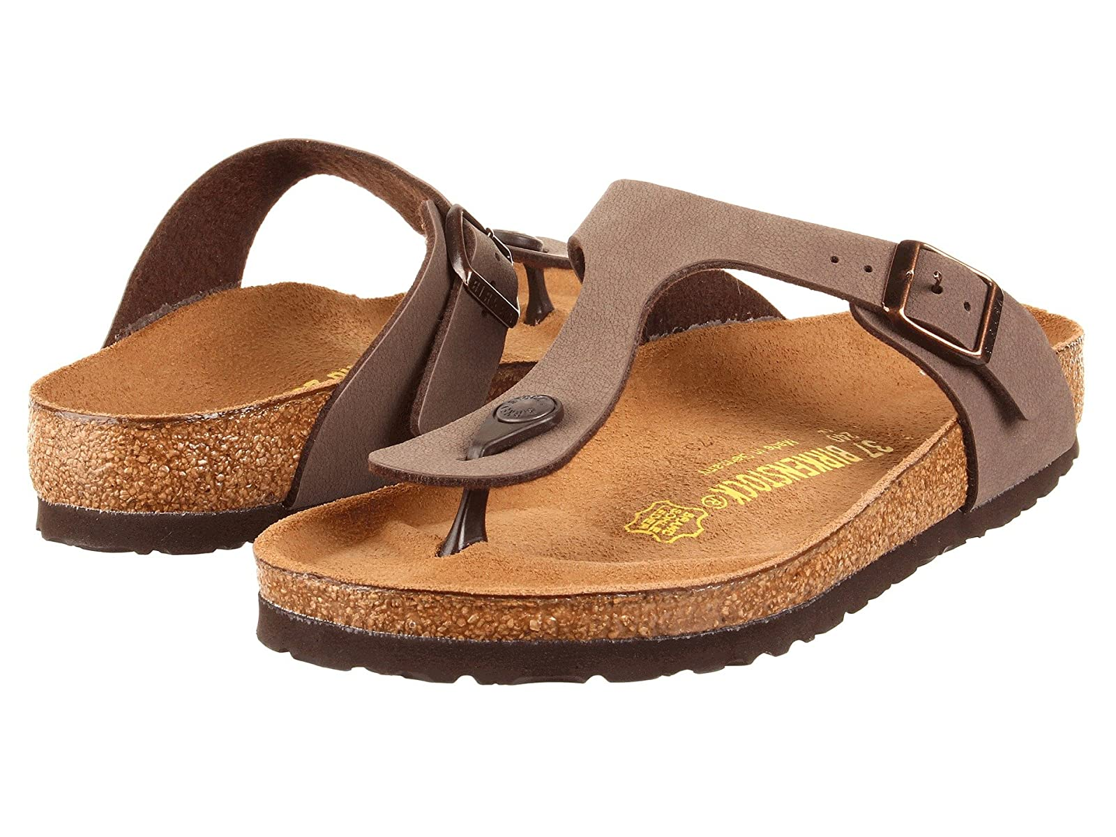 Birkenstock Gizeh Birkibuc™Comfortable and distinctive shoes