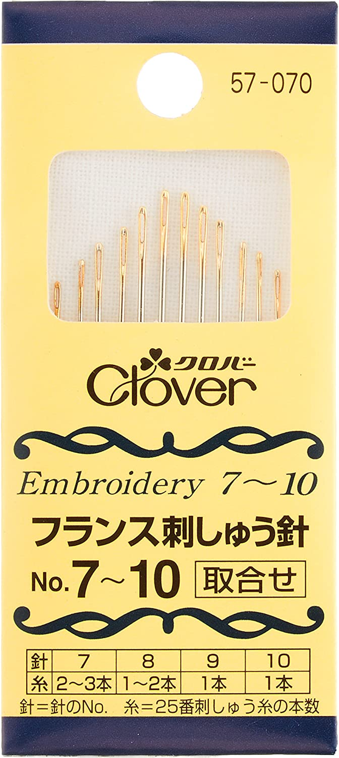 Clover France Nippon regular agency embroidery Oakland Mall needle NO7-10 57-070