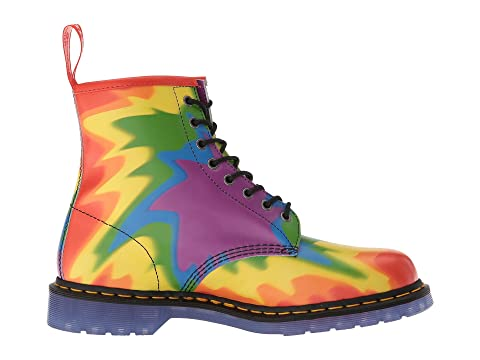 Dr. Martens 1460 Pride Tie-Dye Print Backhand Outlet Excellent Cheap Sale Limited Edition tdd8x