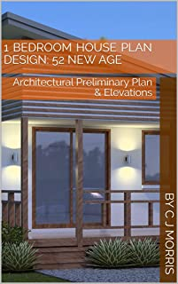 Small House Plan 52 New Age | 1 Bedroom home design : architectural prelinmanry plan and elevations