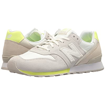 New Balance Classics WL696v1 (Sea Salt/Soler Yellow) Women