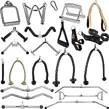 C.P.Sports Handgrepen voor kabels, kabelkabels, trekstang, roeigreep, biceps triceps-stang, triceps-touw, SZ-stang, karabi...
