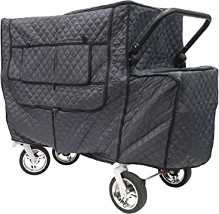 Creative Outdoor Quilted Insulated Cold Weather Cover for Push Pull Wagons | Accessory
