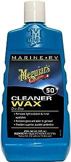 Meguiar's M5016 Marine/RV One Step Cleaner Wax, 16 fl oz
