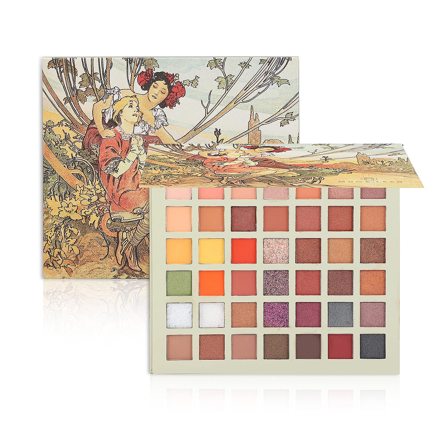 Highly Los Angeles Mall Pigmented Eyeshadow Palette 42 Colors Sh Makeup Eye Matte Limited time for free shipping