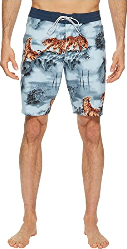 Mysty Mountain Four-Way Stretch Boardshorts 20""