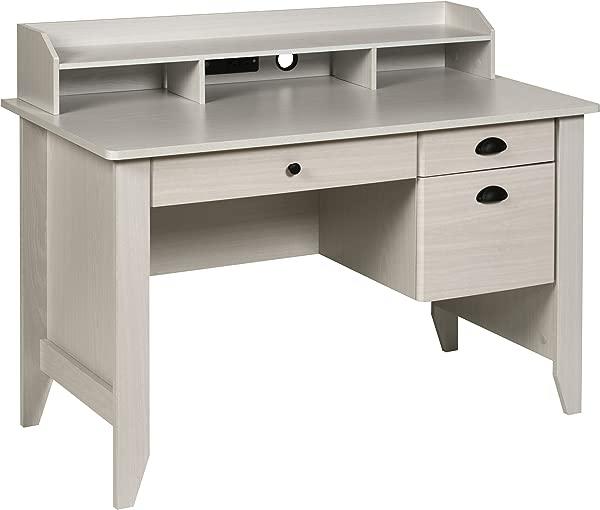 OneSpace 50 1617WO Executive Desk White Oak