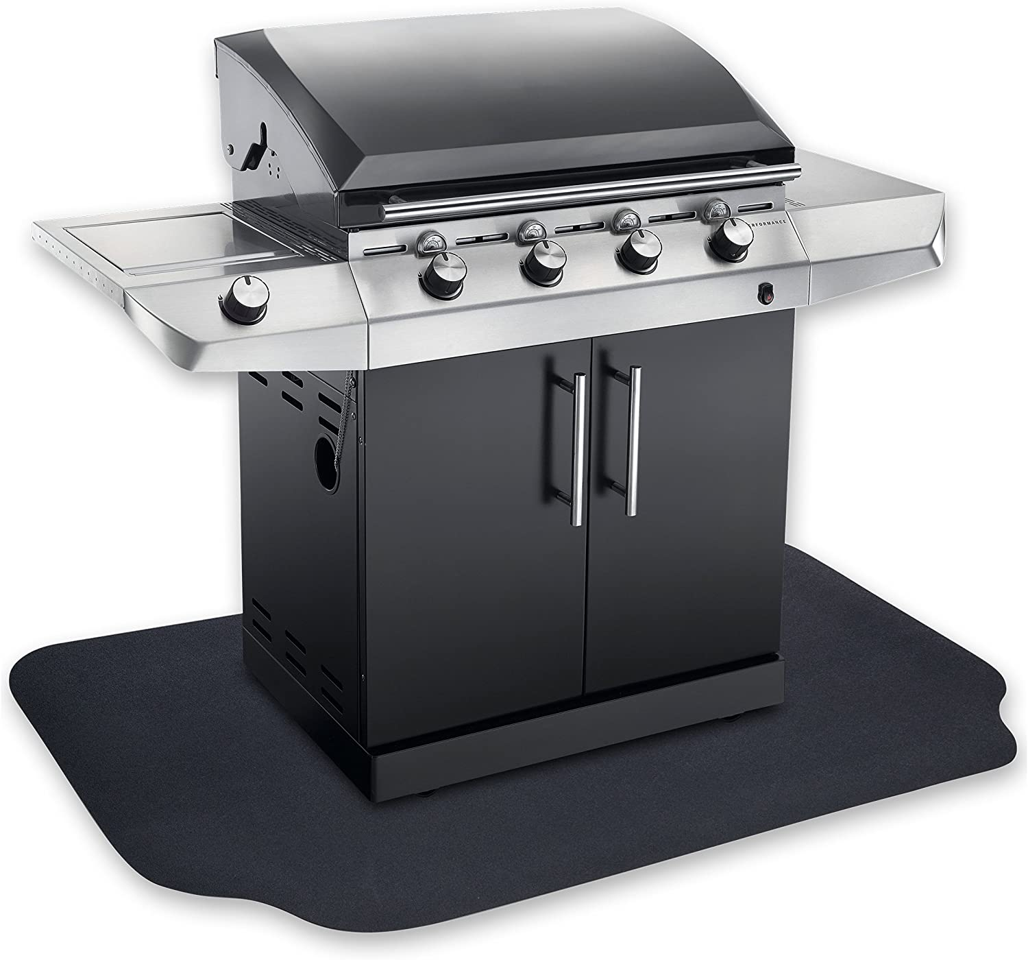 GRILLTEX Under the Grill Protective Deck and Patio Mat, 39 x 72 inches : Patio, Lawn & Garden