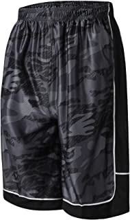 Abovewater Men's Basketball Shorts Quick-Dry Running & Gym Shorts with Drawstring & Pockets