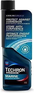 Chevron Techron 266708118 Protection Plus Marine Fuel System Treatment 4oz Counter Display, Pack of 12