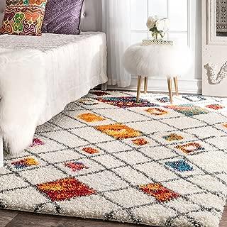 plush woven rug