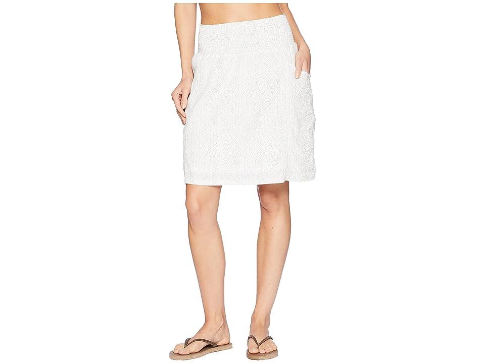 Prana Sugar Pine Skirt (White Bodhi) Women