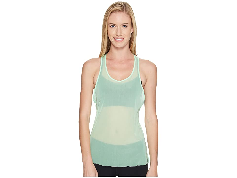 New Balance Mesh Tank Top (Agave Green) Women