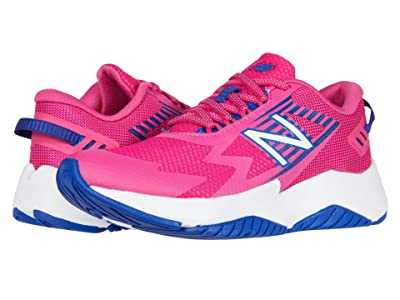 New Balance Kids Rave Run v1 (Little Kid/Big Kid) (Exhuberant Pink/Candy Pink) Girls Shoes