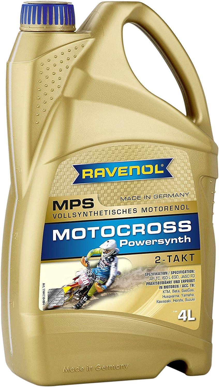 Ravenol Mps 2t Vollsynthetisches Zweitaktöl 1 Liter Auto