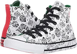 Converse Kids Chuck Taylor All Star Holiday Coloring Book - Hi (Little Kid/Big Kid)