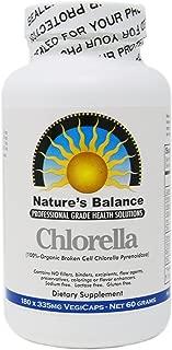 100% Pure Premium Grade Chlorella Pyrenoidosa by Nature's Balance - 180 Capsules