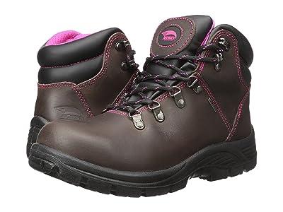 Avenger A7125 Steel Toe (Brown) Women