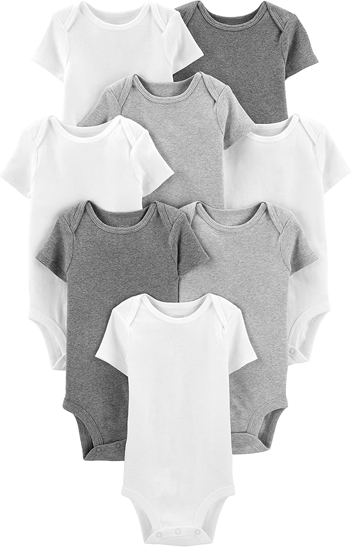 Simple Joys by Carter's Baby 8-Pack Short-Sleeve Bodysuit