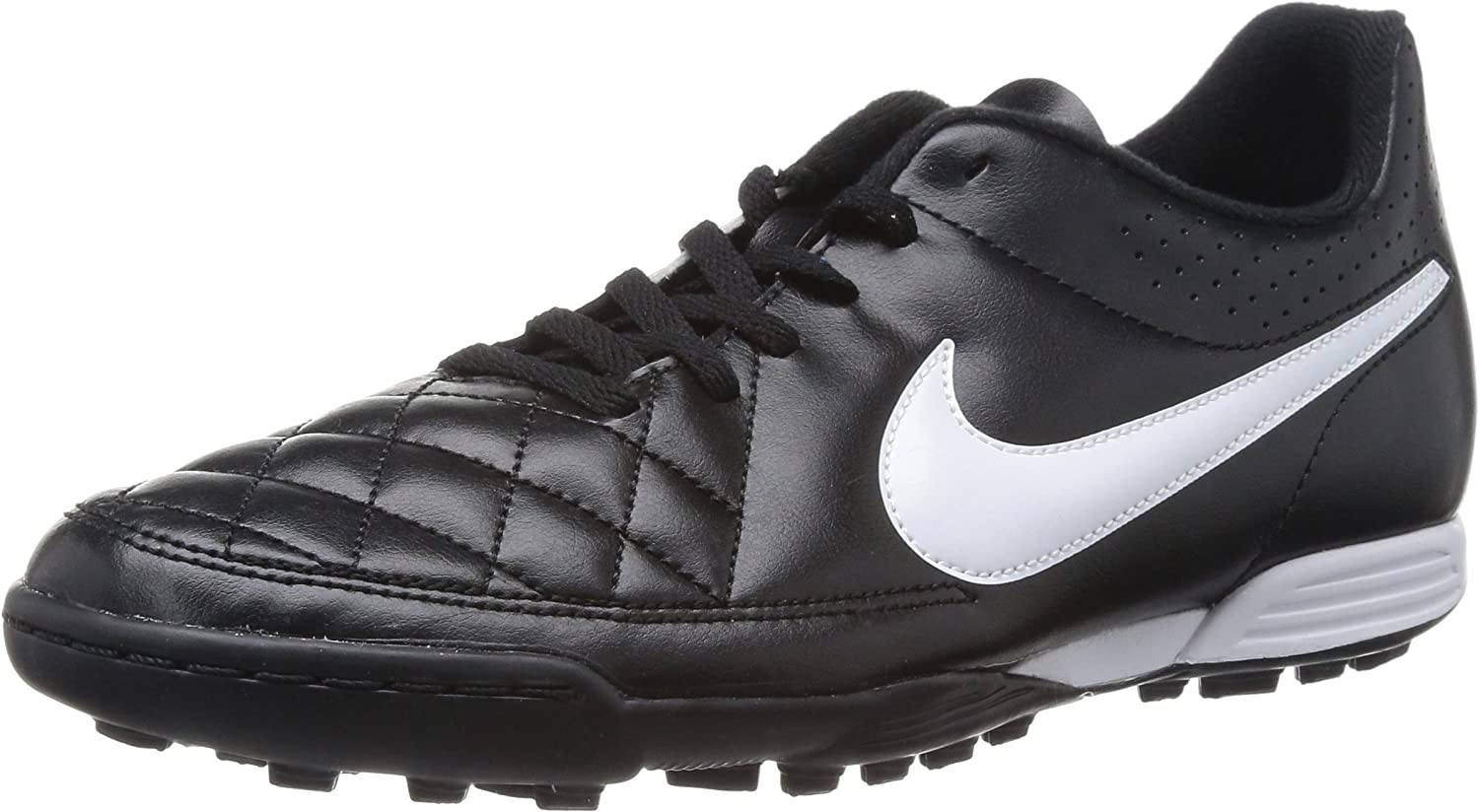 Nike Tiempo Rio II TF Men's Football Trainers - Black White