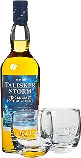 Talisker Storm Whisky mit Geschenkverpackung mit 2 Gläsern 1 x 0.7 l