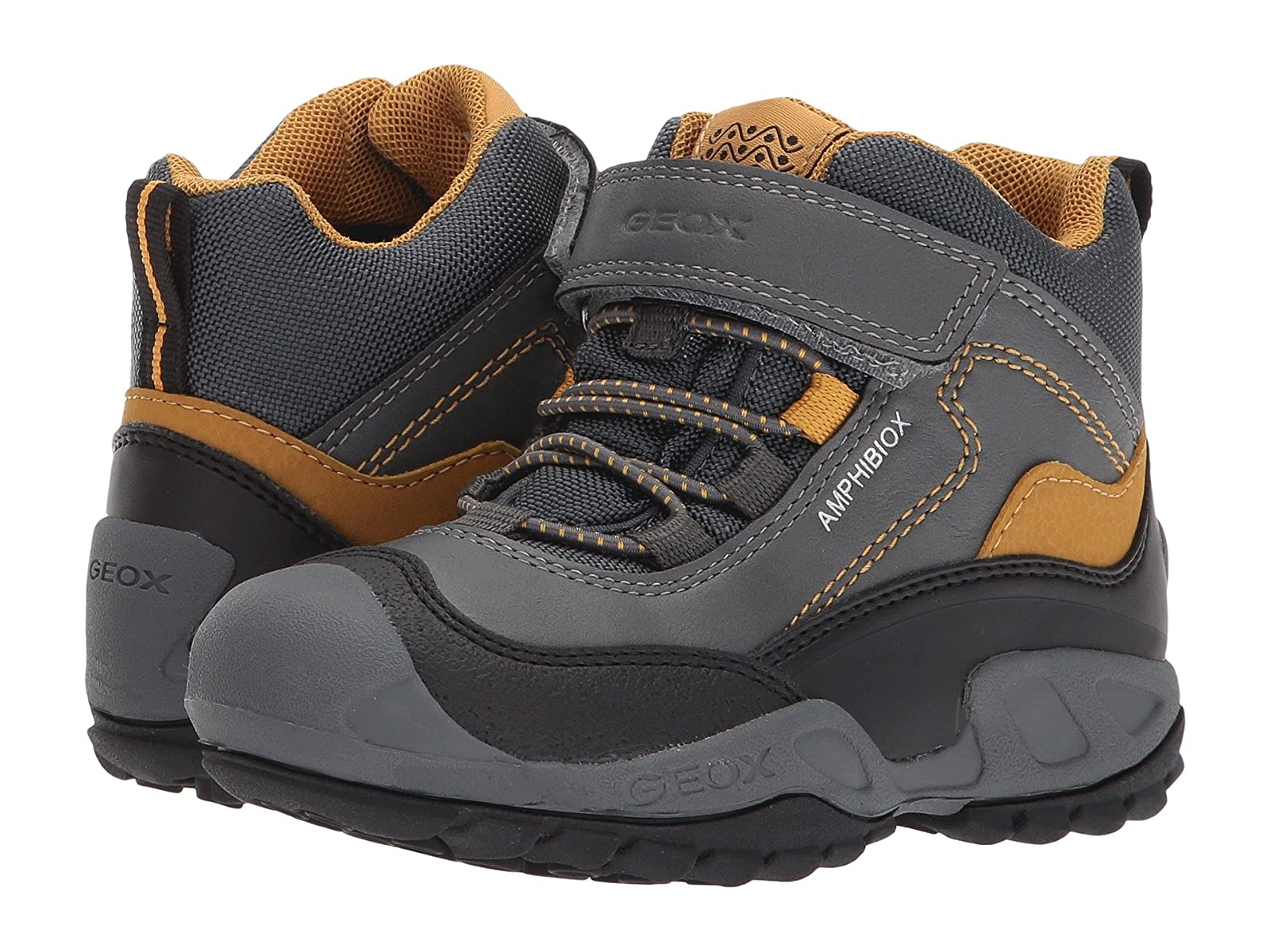 Geox Kids Jr Savage ABX 4 (Toddler/Little Kid)Atmospheric grades have affordable shoes