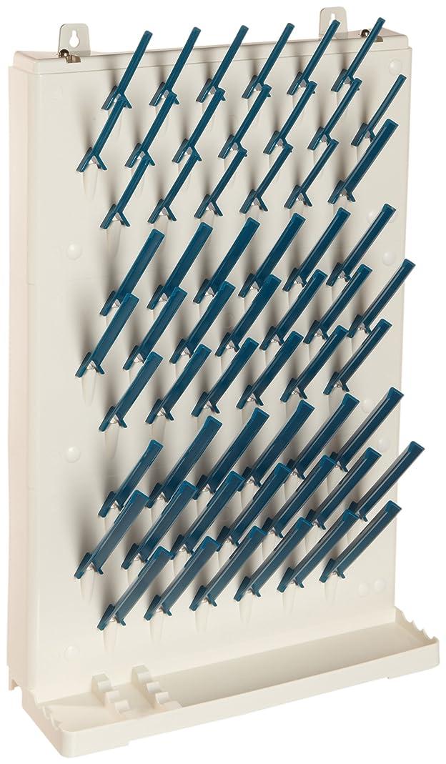 Bel-Art Lab-Aire II Single-Sided Non-Electric Wallmount Glassware Dryer; 3 Tier, 14.75 x 5 x 23.4 in. (F18933-0013) slze30657