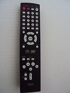 Denon Rc-1017 Audio Multi-disc Cd Remote Control Super Audio Cd