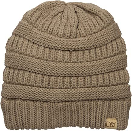 D&Y David & Young's Solid Slinky - Gorro para Mujer
