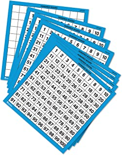 Learning Resources Laminated Hundred Boards, Set of 10