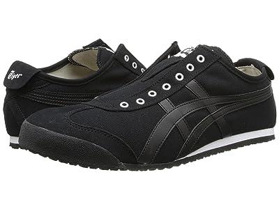 Onitsuka Tiger Mexico 66(r) Slip-On (Black/Black) Shoes