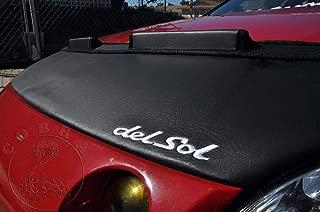 Cobra Auto Accessories Car Bonnet Mask Hood Bra + Logo Fits Honda CRX Del Sol 1993 1994 1995 1996 1997 93 94 95 96 97