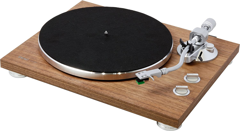 Teac Tn 400bt Hifi Plattenspieler Walnuss Elektronik