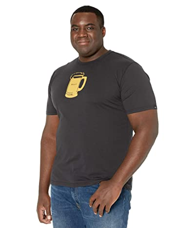 Prana Beer Belly Journeyman T-Shirt (Black) Men