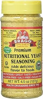 Bragg Premium Nutritional Yeast Seasoning Shaker Top, 4.5 ounce