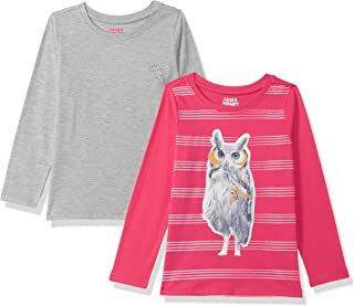 Amazon Brand - Jam & Honey Girl's Regular T-Shirt