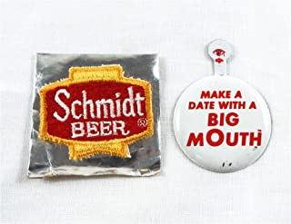 schmidt beer big mouth bottle