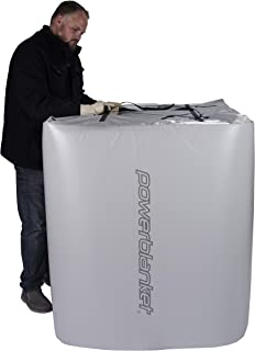 Powerblanket Xtreme TH330G Insulated IBC Storage Tote Heater, Rugged alloy vinyl shell, Includes adjustable thermostat controller, Fits 330 Gallon IBC Tote's