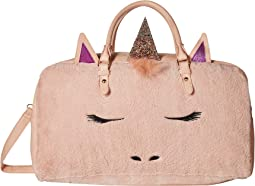 Faux Fur Gwen Duffel Bag