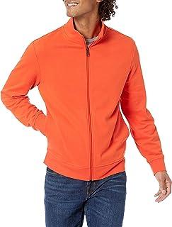 Amazon Essentials Men's Lightweight French Terry Full-Zip Mockneck Sweatshirt