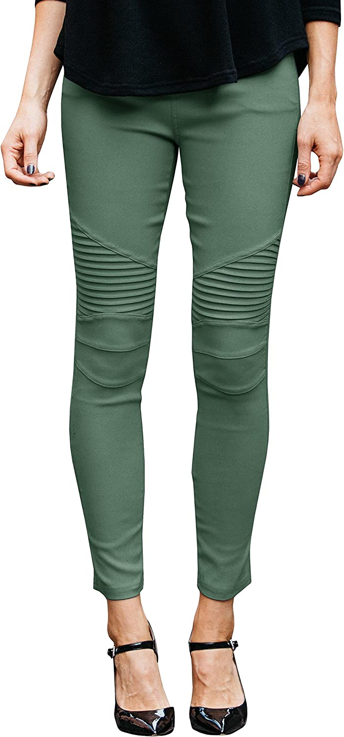 Womens Stretch High Waist Jeggings Skinny Slim Fit Jeans Leggings lightweight Ankle Pencil Pants
