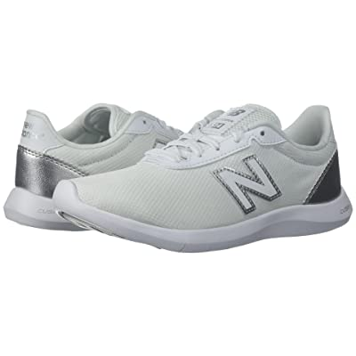 New Balance 514v1 (White/Metallic Silver) Women