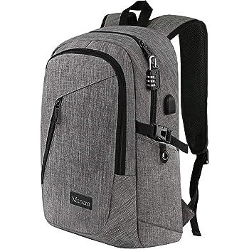 Mochila para ordenador portátil, bolsa de viaje para mujeres y hombres