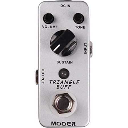 Mooer Triangle Buff, fuzz pedal