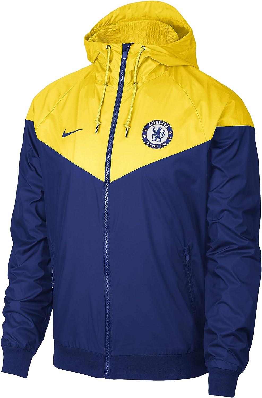 Nike Herren Fc Chelsea Windrunner Kapuzenjacke Jacke