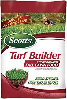Scotts Turf Builder Winterguard Fall Lawn Food, 37.5 lbs, 15,000 sq. ft. of Coverage