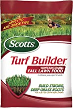 Scotts Turf Builder WinterGuard Fall Lawn Food, 12.5 lb. - Fall Lawn Fertilizer Builds Strong, Deep Grass Roots for a Better Lawn Next Spring - Covers 5,000 sq. ft.