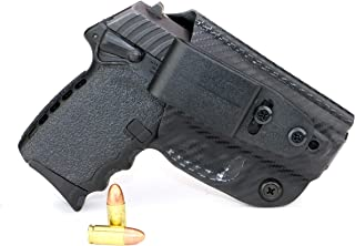 FoxX Holsters Deluxe Trapp Kydex IWB Holster - SCCY CPX-1 & CPX-2 Our Smallest Inside Waistband Holster Adjustable Cant & Retention, Conceal Carry